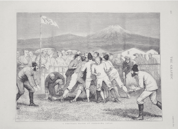 """THE 1874 """"FOOTBALL IN YOKOHAMA"""" ILLUSTRATION AND THE ARTIST WHO CREATED IT"""