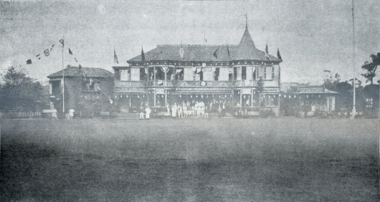 FIRST INTERPORT RUGBY MATCH (YC&AC vs KR&AC) IN 1902
