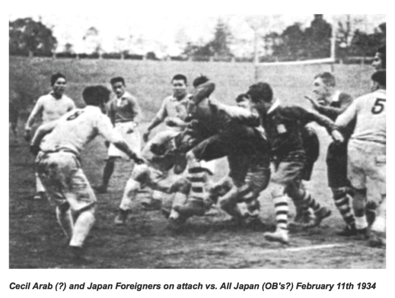 RWC2019 MATCH PROGRAM'S HISTORY OF RUGBY IN JAPAN IS AN INSULT