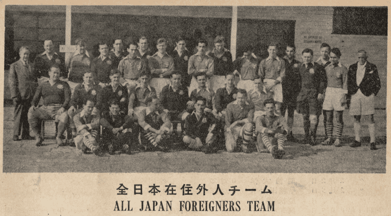 """1952 Win by YC&AC-based """"Japan Foreigners"""" Rugby Team against Hong Kong Uncovered"""
