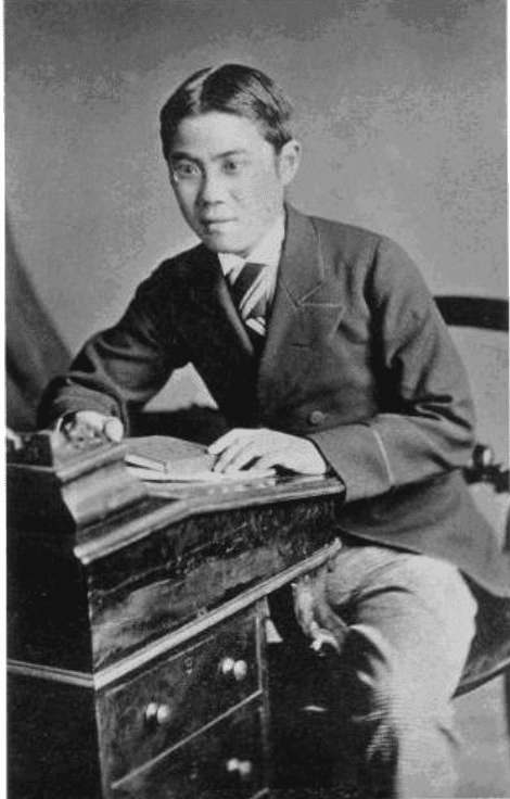 FIRST JAPANESE TO PLAY AN EARLY FORM OF RUGBY: KIKUCHI DAIROKU